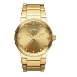 NIXON CANNON  ALL GOLD WATCH