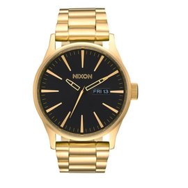 NIXON SENTRY SS ALL GOLD/BLACK  WATCH