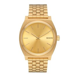 NIXON TIME TELLER  ALL GOLD/GOLD WATCH