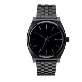NIXON TIME TELLER  ALL BLACK WATCH
