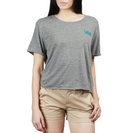 Vans Vans Women Circle Orb Roll Grey T-Shirt