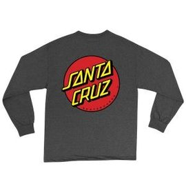 Santa Cruz Classic Dot Regular L/S Youth T-Shirt