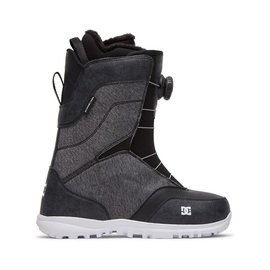 DC SEARCH - BOA SNOWBOARD BOOTS FOR WOMEN BLACK