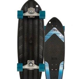 "CARVER Carver Bureo Ahi Surfskate Complete Ocean Grip Skateboard 27"""