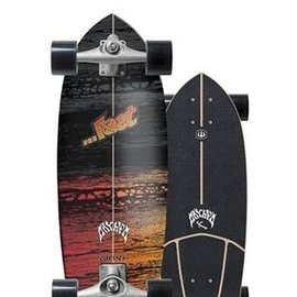 "CARVER Carver Psycho Killer Surfskate Complete Skateboard 29"""