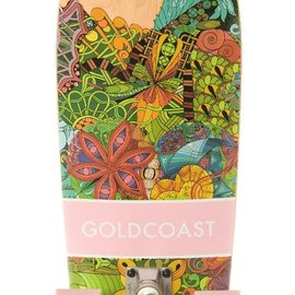 Cruiser Goldcoast Namaste Multicolor Complete Skateboard