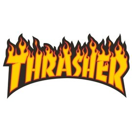 Thrasher THRASHER STICKER FLAME LOGO  LARGE
