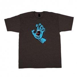 Santa Cruz Skateboards Screaming Hand Premium Regular S/S Santa Cruz Mens T-Shirt