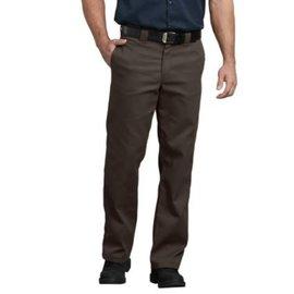 DICKIES MEN'S 874 FLEX Work Pants, Dark Brown