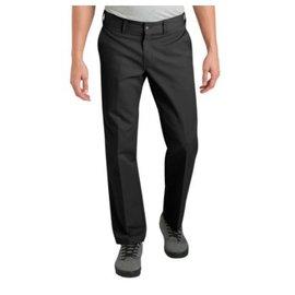 Dickies '67 Slim Fit Straight Leg Work Pants, Black