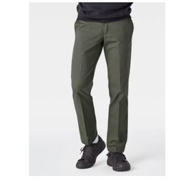 Volcom Dickies '67 Slim Fit Straight Leg Work Pants, Olive Green