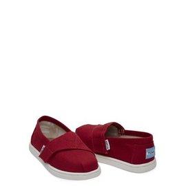 TOMS Tiny Red Alpargata