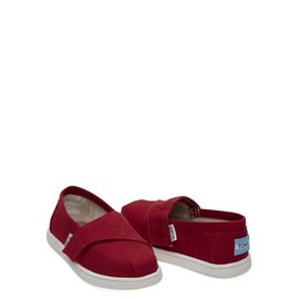 TOMS TOMS Tiny Red Alpargata