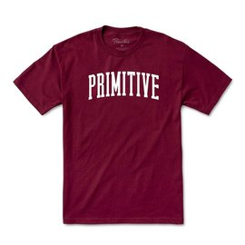 Primitive Primitive Men's Collegiate Arch Outline Short Sleeve T Shirt