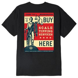 OBEY OBEY SCALE TIPPING Tee