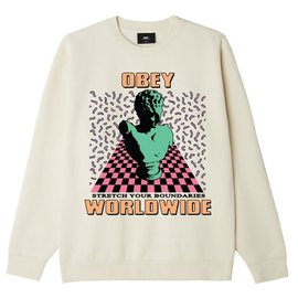 OBEY Obey STRETCH YOUR BOUNDRIES  Tee