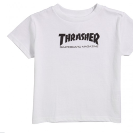 Thrasher Toddler Skate Mag T-Shirt white