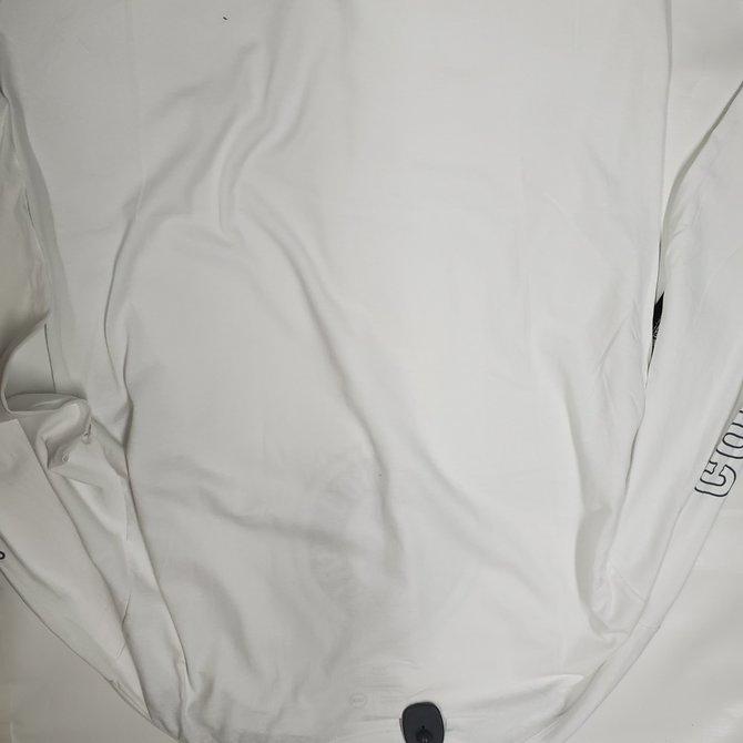 Brixton White Long Sleeve Forte IV Tee