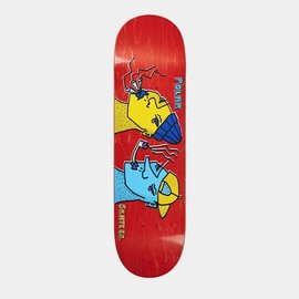 POLAR SKATE. POLAR TEAM SMOKING HEADS DECK
