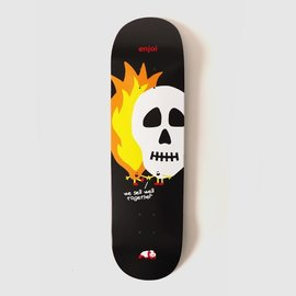 Almost Almost Skulls And Flames HYB 8.5 Black