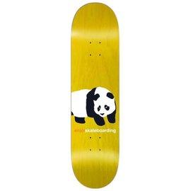 enjoi Peekabo Panda R7 Deck 8 Yellow
