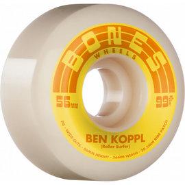 Bones Bones Street Tech Formula 99a Wide Cut V6 Koppl Rollersurfer 54