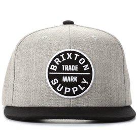 Brixton Brixton Oath III Snapback Light Heather Grey/Black