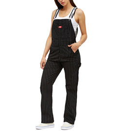 DICKIES PINSTRIPE OVERALL SP BLK DN03PS