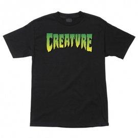 Creature T SHIRT LOGO BLACK