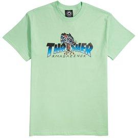 Thrasher Thrasher Leopard Mag Shirt