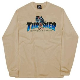 Thrasher Thrasher Leopard Mag Long Sleeve