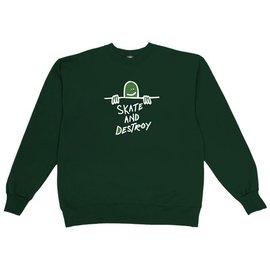 Thrasher Thrasher Gonz Sad Logo Crew Green