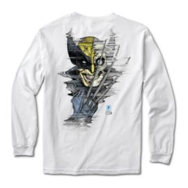 Primitive Primitive Wolverine L/S Tee White