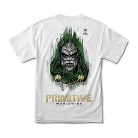 Primitive Primitive Doom Tee White