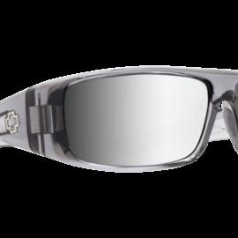 SPY SPY Logan Clear Smoke Happy Gray Green With Silver