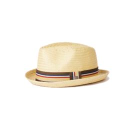 Brixton Brixton Castor Fedora Hat Tan L/XL