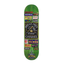 Anti Hero Skateboards AH BRD CARDIEL BROADCASTING 8.62