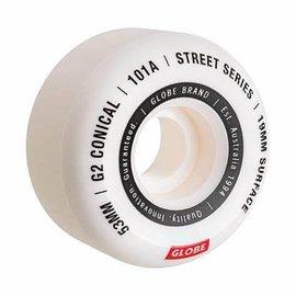 Globe Globe G2 Conical Street Wheel White/Essential 55