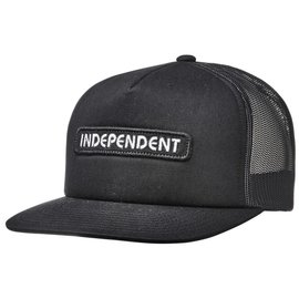 Independent BTG Summit Snapback Mid Profile Hat White/Black