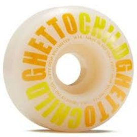 ghetto child Ghetto Child Classic Logo Wheel 54mm Yellow