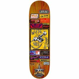 Anti Hero Skateboards AH BRD TAYLOR BROADCASTING 8.25
