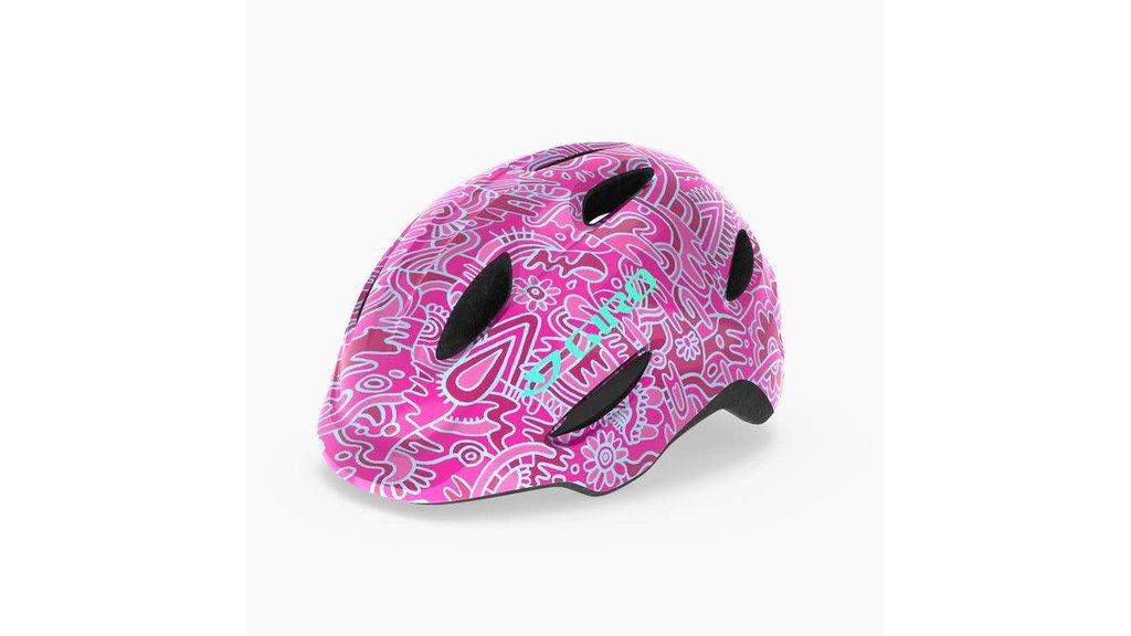Giro Bike CASQ GIRO SCAMP T-PETIT FLEURS ROUGE/ROSE