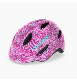 Giro Bike CASQUE GIRO SCAMP FLEURS ROUGE/ROSE T-PETIT