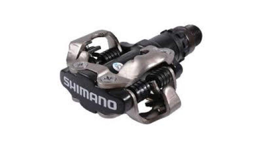 PEDALES SHIMANO SPD PD-M520-L NOIR