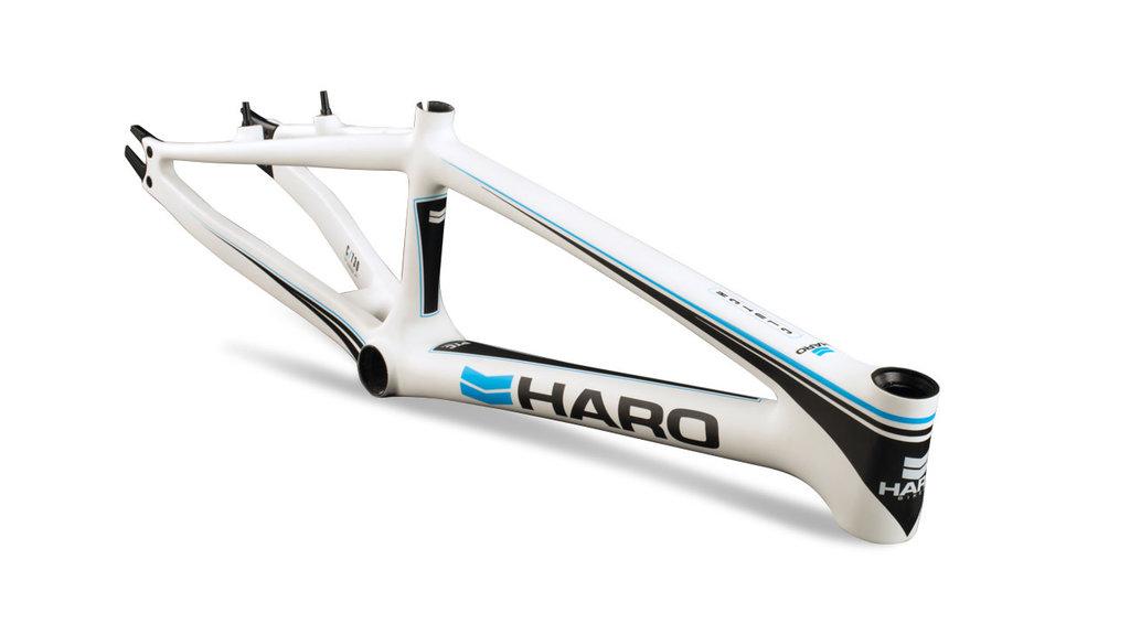 HARO BIKES CADRE HARO CLUTCH CARB0NE BLANC PRO XL 21TT