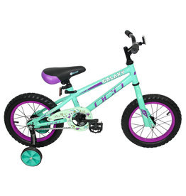 DCO BIKES 2021 DCO GALAXY FILLE TURQUOISE 14''