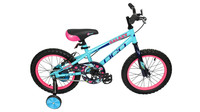 DCO BIKES 2021 DCO GALAXY TURQUOISE/ROSE 16''