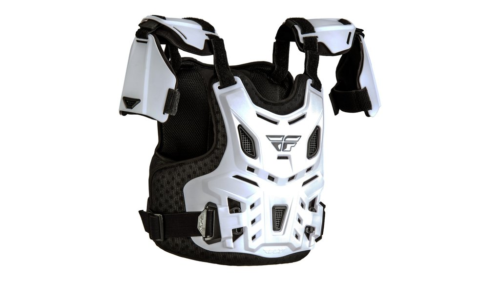 FLY RACING PROTECTION FLY REVEL ROOST BLANC ENFANT