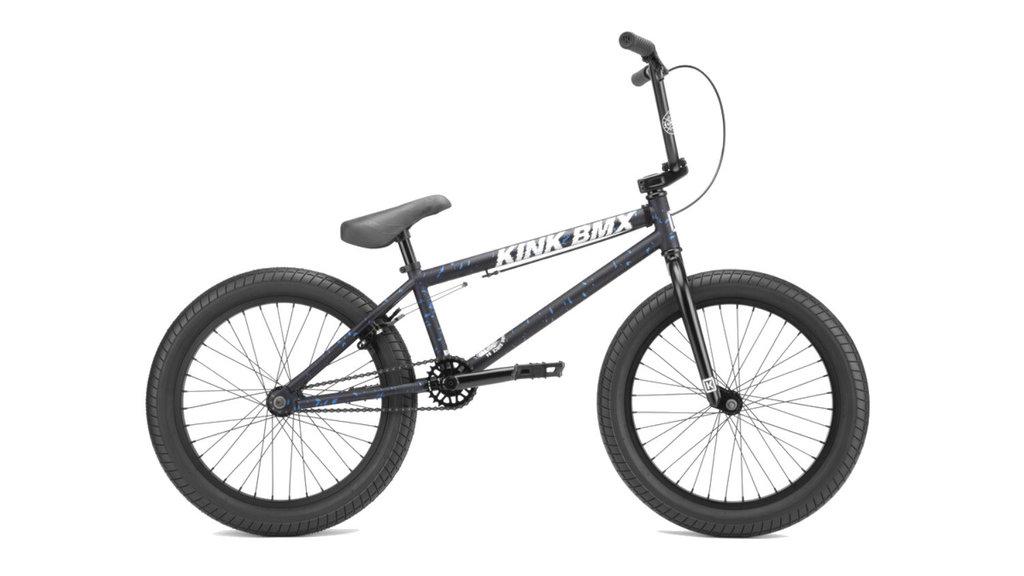 KINK BMX 2022 KINK CURB BLEU/BLEU 20TT