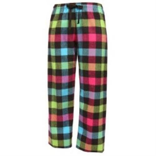 Neon Flannel Pants